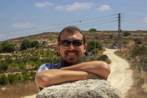 Eitan pillar smiling gush patriarchs path